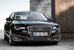 Audi A8 noleggio Roma