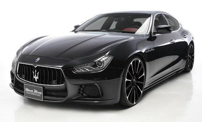 Maserati Ghibli Black