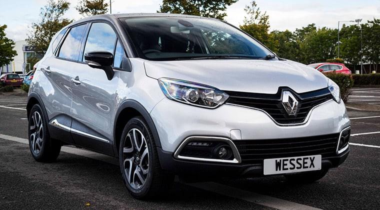 Noleggio Auto Renault Captur Roma