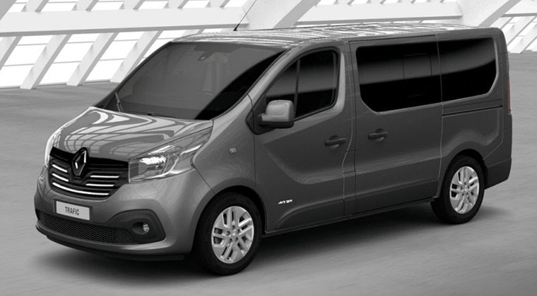 New Renault Trafic Intens